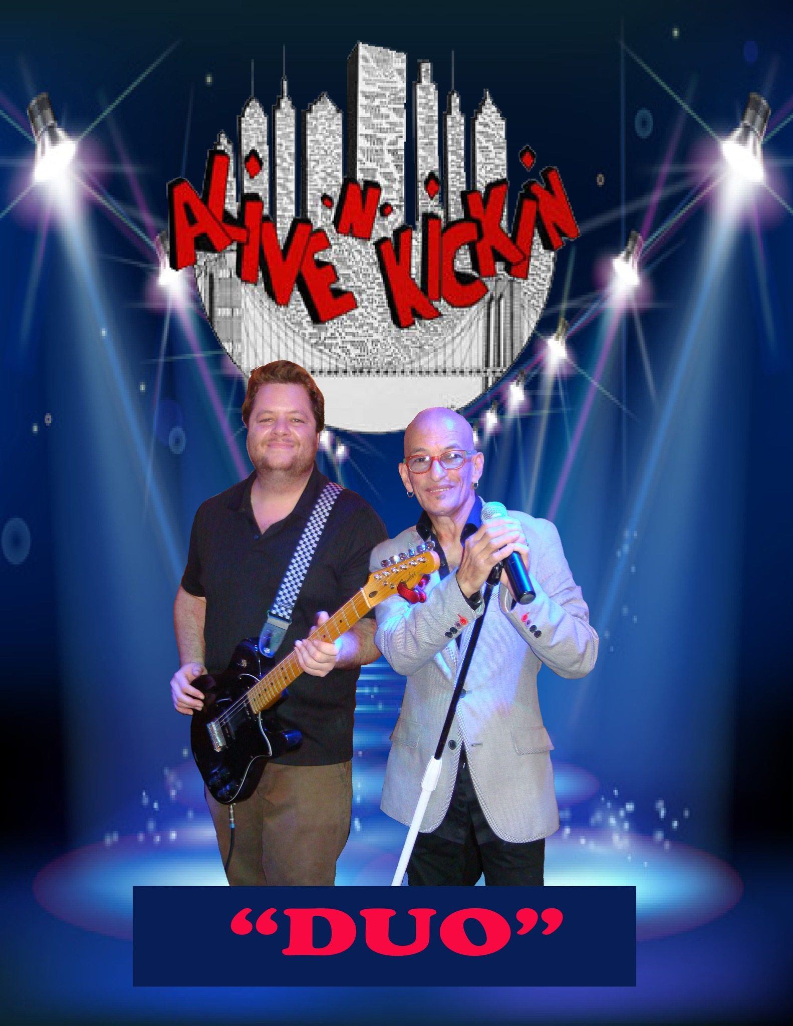Alive N Kickin Duo Music Program
