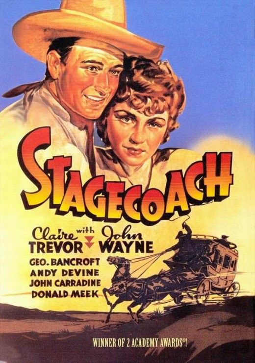 Tuesday Evening Film: Stagecoach (John Wayne Series)