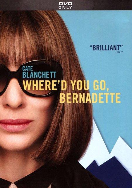 Wednesday Matinee: Where'd You Go Bernadette? (Cate Blanchett) 2019