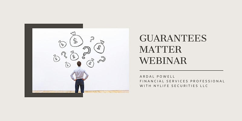 Guarantees Matter Webinar