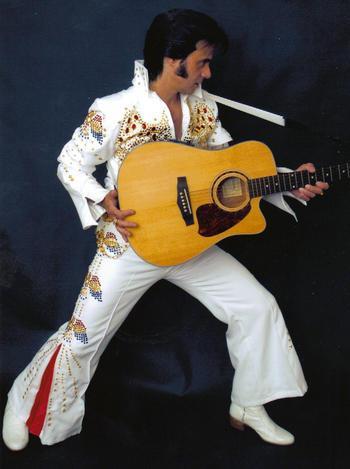 Outdoor Elvis Tribute