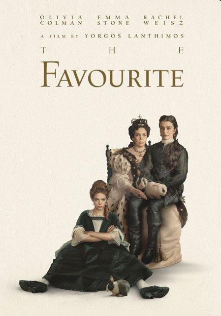Tuesday Evening Film: The Favourite (Oscar Series - Winner Best Actress)