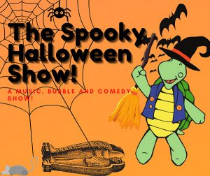 (Not too) SPOOKY HALLOWEEN SHOW with Turtle Dance on the BIG SCREEN!