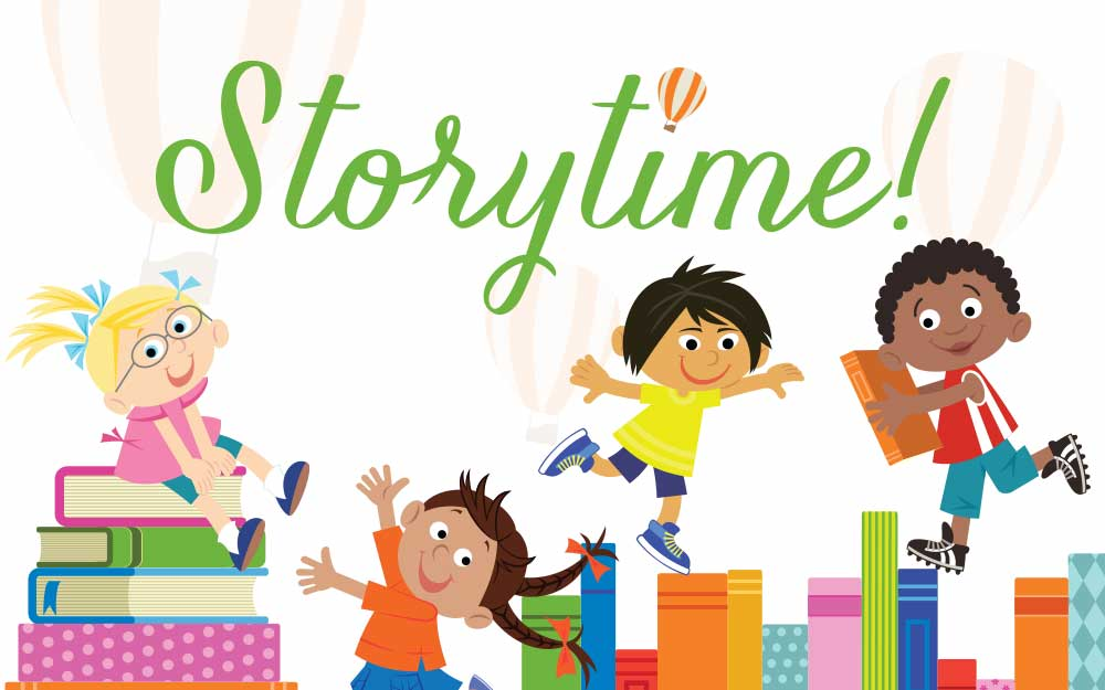 Storytime Returns LIVE on the Lawn!