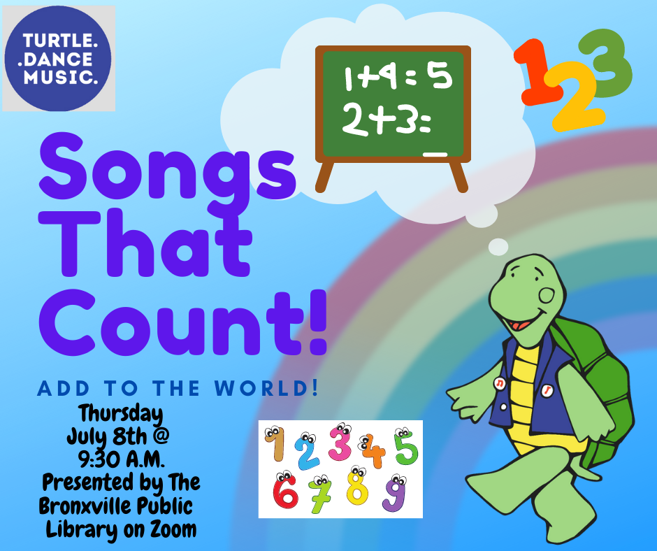 Turtle Dance: Songs That Count: Add To The World! (Virtual Event)