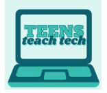 Teens Teach Tech:  Social Media