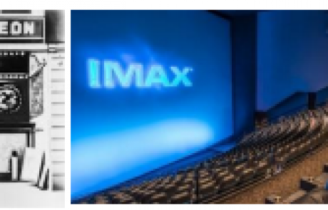 Moviegoing in America:  Nickelodeons to Movie Palaces to IMAX to Netflix
