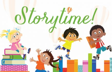 October Storytime on the Library Lawn!