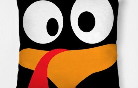 NOVEMBER: Hand Sewing Crazy Turkey Thanksgiving Pillow for Tweens/Teens