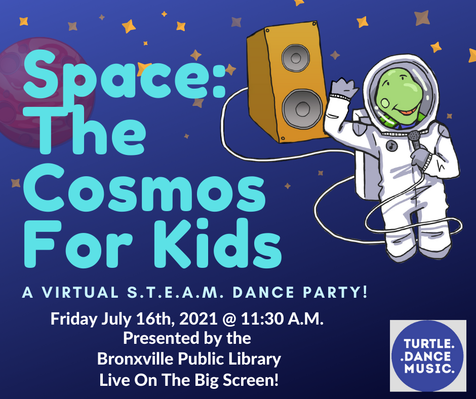 """Turtle Dance: Space! The Cosmos For Kids """"Live on the Big Screen"""""""