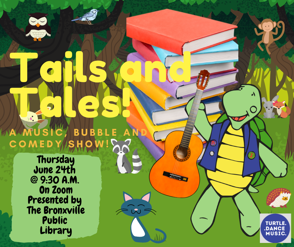 Turtle Dance Music Tails and Tales on Zoom!